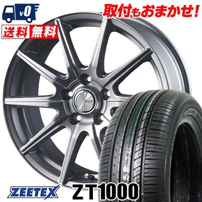 215/65R15 100V XL ZEETEX ジーテックス ZT1000 ZT1000 V-EMOTION SR10 Vエモーション SR10 サマータイヤホイール4本セット