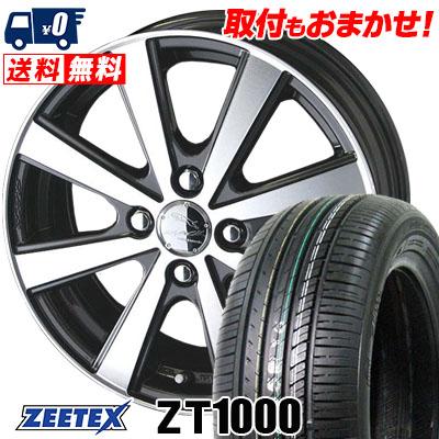 165/50R16 75V ZEETEX ジーテックス ZT1000 ZT1000 SMACK VIR スマック VI-R サマータイヤホイール4本セット