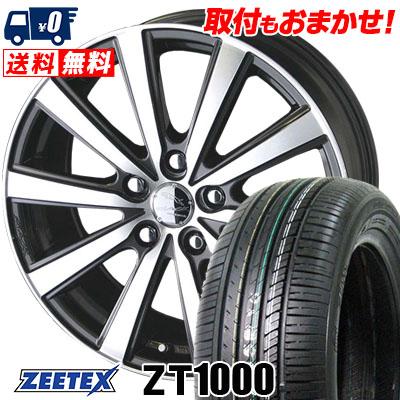 215/65R15 100V XL ZEETEX ジーテックス ZT1000 ZT1000 SMACK VIR スマック VI-R サマータイヤホイール4本セット