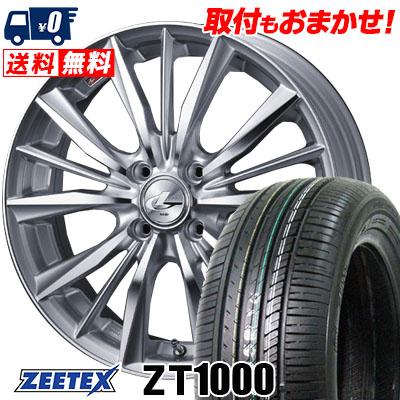 195/45R16 84V XL ZEETEX ジーテックス ZT1000 ZT1000 weds LEONIS VX ウエッズ レオニス VX サマータイヤホイール4本セット
