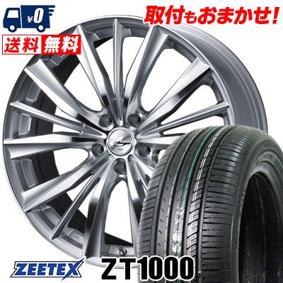 215/65R16 98V ZEETEX ジーテックス ZT1000 ZT1000 weds LEONIS VX ウエッズ レオニス VX サマータイヤホイール4本セット