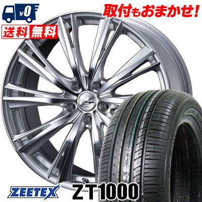 205/65R15 94H ZEETEX ジーテックス ZT1000 ZT1000 weds LEONIS WX ウエッズ レオニス WX サマータイヤホイール4本セット