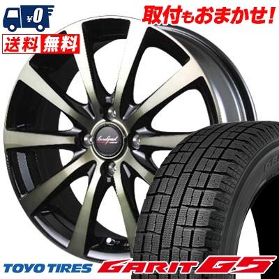 175/65R15 TOYO TIRES トーヨータイヤ GARIT G5 ガリット G5 EuroSpeed BL10 ユーロスピード BL10 スタッドレスタイヤホイール4本セット