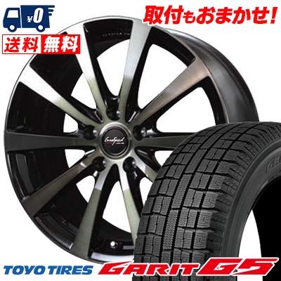 195/65R15 TOYO TIRES トーヨータイヤ GARIT G5 ガリット G5 EuroSpeed BL10 ユーロスピード BL10 スタッドレスタイヤホイール4本セット