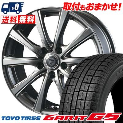 215/60R16 TOYO TIRES トーヨータイヤ GARIT G5 ガリット G5 CLAIRE DG10 クレール DG10 スタッドレスタイヤホイール4本セット