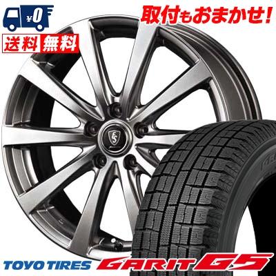 205/60R16 TOYO TIRES トーヨータイヤ GARIT G5 ガリット G5 Euro Speed G10 ユーロスピード G10 スタッドレスタイヤホイール4本セット