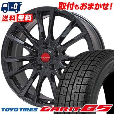 205/60R16 TOYO TIRES トーヨータイヤ GARIT G5 ガリット G5 LeyBahn GBX レイバーン GBX スタッドレスタイヤホイール4本セット