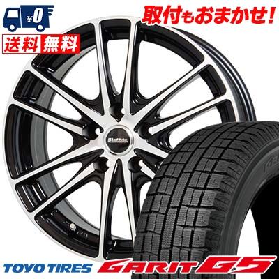 205/60R16 TOYO TIRES トーヨータイヤ GARIT G5 ガリット G5 Laffite LW-03 ラフィット LW-03 スタッドレスタイヤホイール4本セット