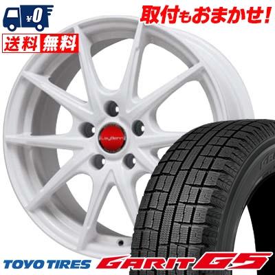 205/60R16 TOYO TIRES トーヨータイヤ GARIT G5 ガリット G5 LeyBahn WGS レイバーン WGS スタッドレスタイヤホイール4本セット