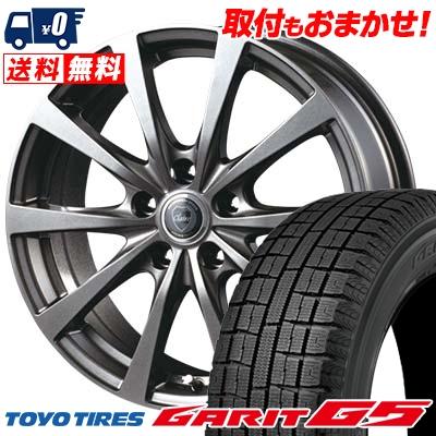 195/65R15 91Q TOYO TIRES トーヨータイヤ GARIT G5 ガリット G5 CLAIRE RG10 クレール RG10 スタッドレスタイヤホイール4本セット