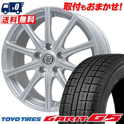 205/60R16 92Q TOYO TIRES トーヨータイヤ GARIT G5 ガリット G5 TRG-SS10 TRG SS10 スタッドレスタイヤホイール4本セット