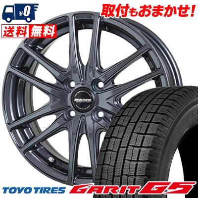 185/60R15 TOYO TIRES トーヨータイヤ GARIT G5 ガリット G5 WAREN W03 ヴァーレン W03 スタッドレスタイヤホイール4本セット