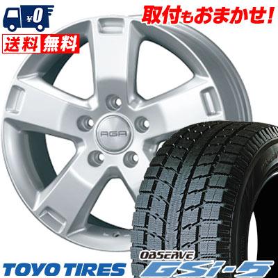255/55R18 109Q TOYO トーヨー OBSERVE GSi-5 オブザーブ GSi5 AGA Esse AGA エッセ2 スタッドレスタイヤホイール4本セット【 for VW 】