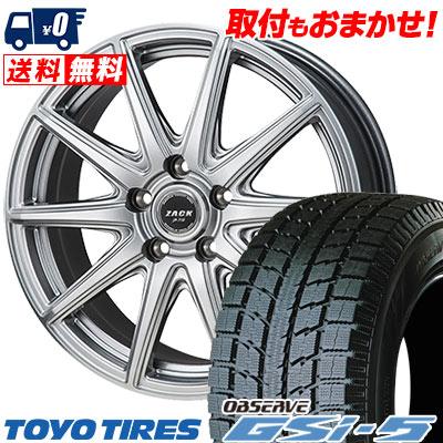 235/70R16 106Q TOYO TIRES トーヨータイヤ OBSERVE GSi-5 オブザーブ GSi5 ZACK JP-710 ザック ジェイピー710 スタッドレスタイヤホイール4本セット