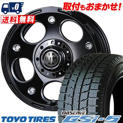 265/70R16 TOYO TIRES トーヨータイヤ OBSERVE GSi-5 オブザーブ GSi5 MG DEMON MG デーモン スタッドレスタイヤホイール4本セット