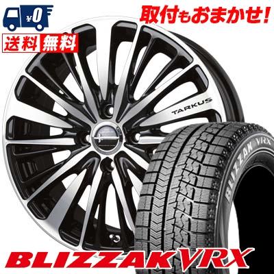 165/60R15 BRIDGESTONE ブリヂストン BLIZZAK VRX ブリザック VRX BADX LOXARNY TARKUS バドックス ロクサーニ タルカス スタッドレスタイヤホイール4本セット