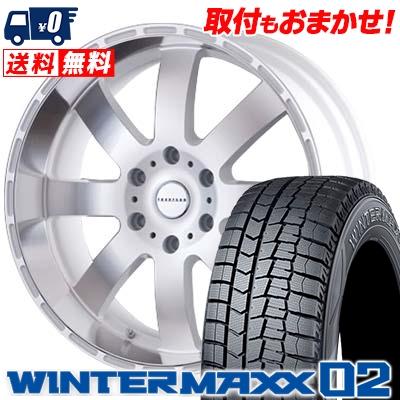 豪華で新しい 215/60R17 DUNLOP ダンロップ WINTER MAXX 02 WM02 ウインターマックス 02 Reverson DR8 レベルソン DR8 スタッドレスタイヤホイール4本セット, The Black Market 0bc4b159