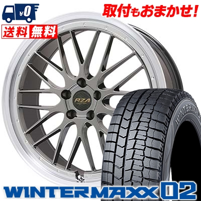 格安販売中 245/40R19 DUNLOP ダンロップ WINTER MAXX 02 WM02 ウインターマックス 02 Leycross REZERVA レイクロス レゼルヴァ スタッドレスタイヤホイール4本セット, ミシン一番 41fdbffb