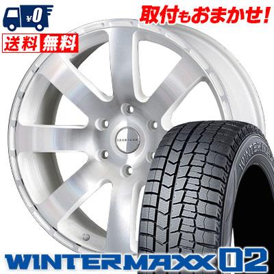 お手頃価格 215/60R17 DUNLOP ダンロップ WINTER MAXX 02 WM02 ウインターマックス 02 Reverson R8 レベルソン R8 スタッドレスタイヤホイール4本セット, piccino e2110eb3