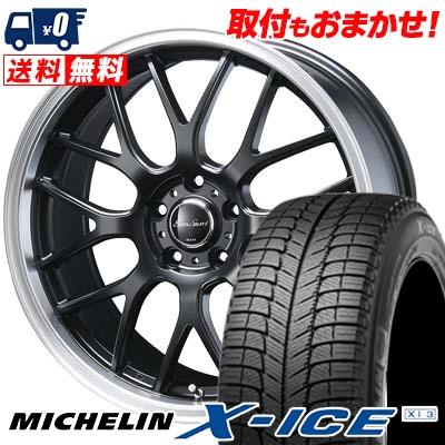 225/40R18 MICHELIN ミシュラン X-ICE XI3 エックスアイス XI-3 Eoro Sport Type 805 ユーロスポーツ タイプ805 スタッドレスタイヤホイール4本セット