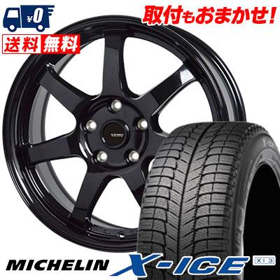 225/40R18 92H MICHELIN ミシュラン X-ICE XI3 エックスアイス XI-3 G.speed G-03 Gスピード G-03 スタッドレスタイヤホイール4本セット