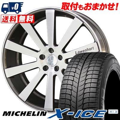 最適な価格 245/45R19 MICHELIN ミシュラン X-ICE XI3 エックスアイス XI-3 Lowenhart LW10 レーベンハート LW10 スタッドレスタイヤホイール4本セット, ドリームプラザ de188987