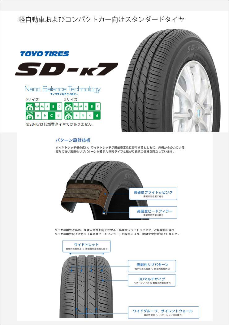 155/55R1469VTOYOTIRESトーヨータイヤSD-K7エスディーケ−セブンSTEINERSF-CシュタイナーSF-Cサマータイヤホイール4本セット