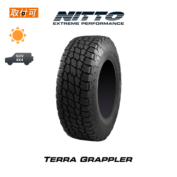 【P20倍以上!Rcard&Entry4/25限定】【取付対象】送料無料 NITTO TERRA GRAPPLER 275/55R20 1本価格 新品夏タイヤ ニットータイヤ テラグラップラー