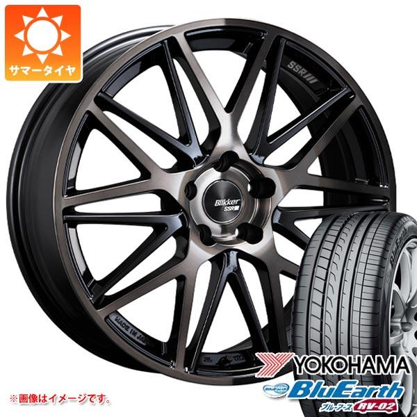 人気TOP 2021年製 サマータイヤ タイヤホイール4本セット ブルーアース 215/55R17 94V 7.0-17 ヨコハマ ブルーアース RV-02 SSR ブリッカー 01M 7.0-17 タイヤホイール4本セット, カデンショップ:00bd9615 --- promotime.lt