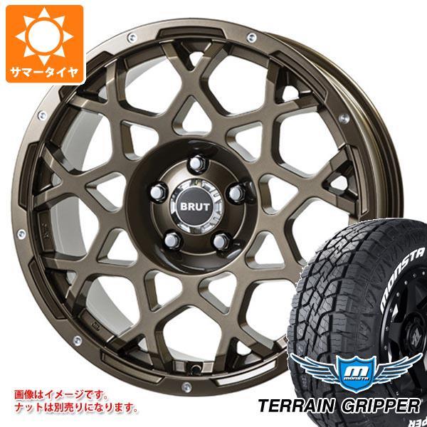低価格の サマータイヤ BRUT 265/65R17 116T XL ブルート モンスタ テレーングリッパー ホワイトレター ブルート モンスタ BRUT BR-55 7.5-17 タイヤホイール4本セット, オオサキ:6810ff3e --- kventurepartners.sakura.ne.jp