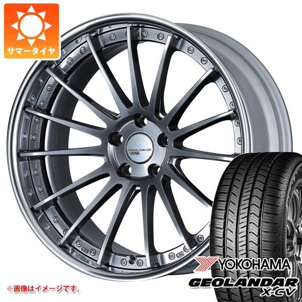 サマータイヤ 235/55R19 105W XL ヨコハマ ジオランダー X-CV G057 SSR エグゼキューター CV04 8.0-19 タイヤホイール4本セット
