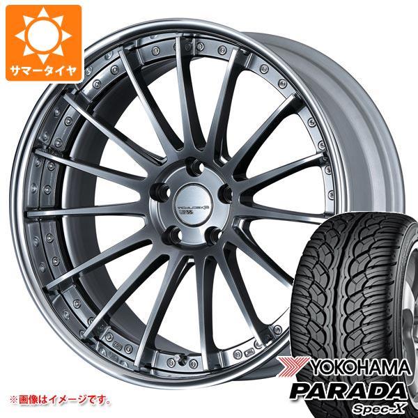 サマータイヤ 235/55R20 102V ヨコハマ パラダ スペック-X PA02 SSR エグゼキューター CV04 8.0-20 タイヤホイール4本セット