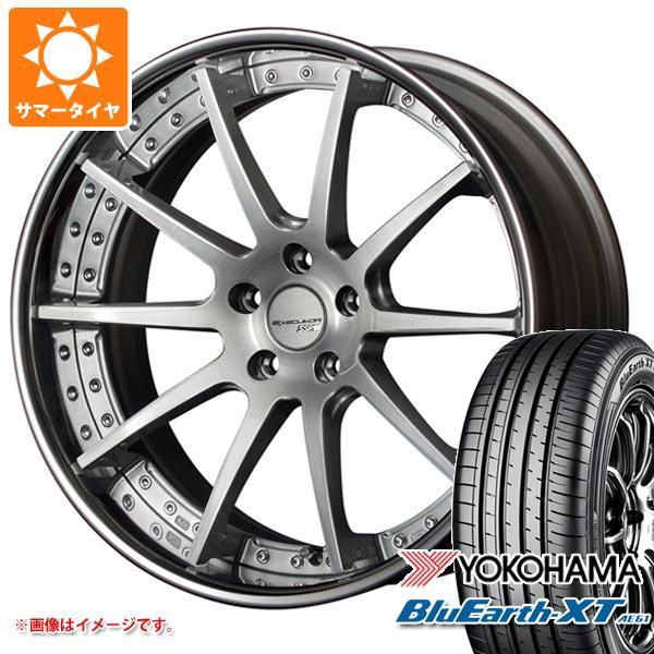 サマータイヤ 235/55R19 101V ヨコハマ ブルーアースXT AE61 SSR エグゼキューター CV01 8.0-19 タイヤホイール4本セット