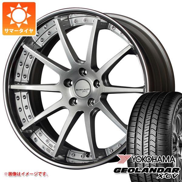 サマータイヤ 235/55R19 105W XL ヨコハマ ジオランダー X-CV G057 SSR エグゼキューター CV01 8.0-19 タイヤホイール4本セット