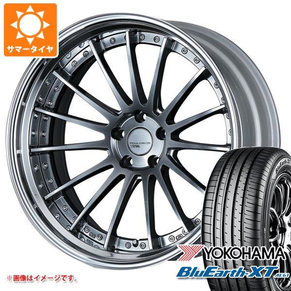 サマータイヤ 235/55R20 102V ヨコハマ ブルーアースXT AE61 SSR エグゼキューター CV04S 8.0-20 タイヤホイール4本セット