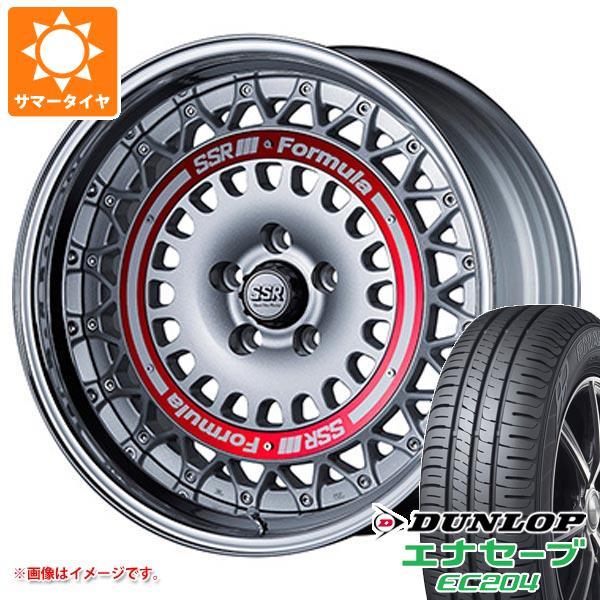 サマータイヤ 215/50R18 92V ダンロップ エナセーブ EC204 SSR フォーミュラ エアロメッシュ 7.5-18 タイヤホイール4本セット