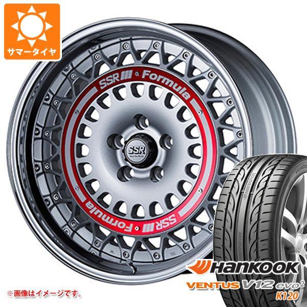 サマータイヤ 225/45R18 95Y XL ハンコック ベンタス V12evo2 K120 SSR フォーミュラ エアロメッシュ 7.5-18 タイヤホイール4本セット