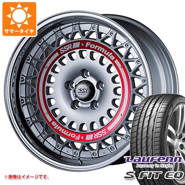 サマータイヤ 245/40R19 98Y XL ラウフェン Sフィット EQ LK01 SSR フォーミュラ エアロメッシュ 8.5-19 タイヤホイール4本セット