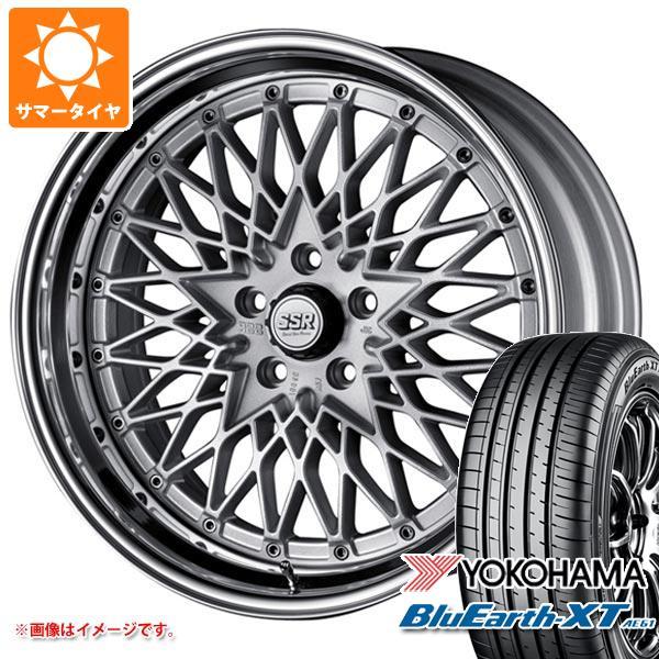 サマータイヤ 215/50R18 92V ヨコハマ ブルーアースXT AE61 SSR フォーミュラ メッシュ 7.5-18 タイヤホイール4本セット