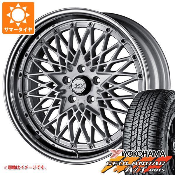 サマータイヤ 235/55R18 104H XL ヨコハマ ジオランダー A/T G015 ブラックレター SSR フォーミュラ メッシュ 8.0-18 タイヤホイール4本セット