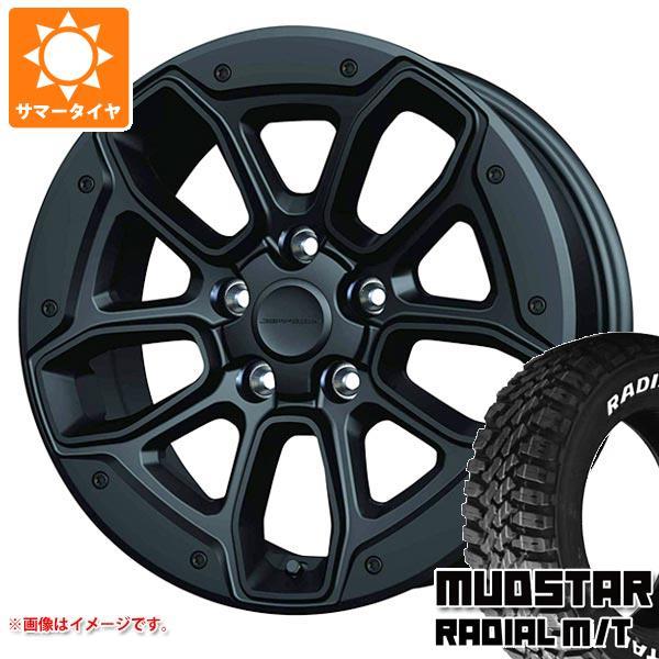 サマータイヤ 215/70R16 100T マッドスター ラジアル M/T ホワイトレター ジェプセン MJCR 012 SB 7.0-16 タイヤホイール4本セット