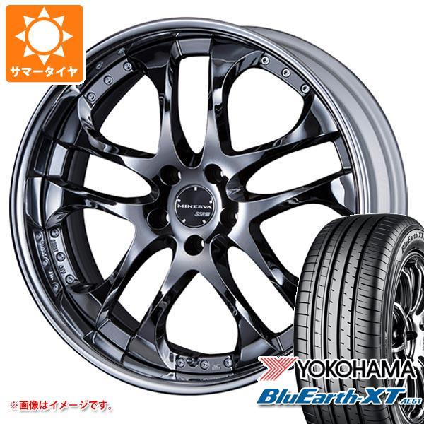 サマータイヤ 235/55R19 101V ヨコハマ ブルーアースXT AE61 SSR ミネルバ 8.0-19 タイヤホイール4本セット