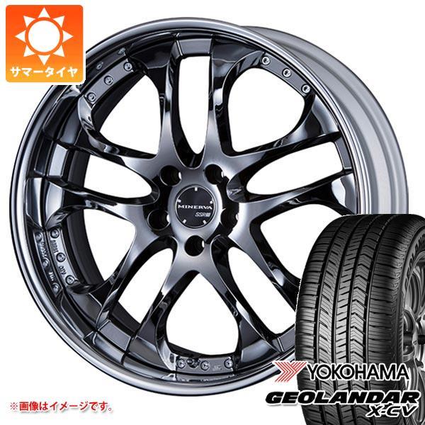 サマータイヤ 235/55R19 105W XL ヨコハマ ジオランダー X-CV G057 SSR ミネルバ 8.0-19 タイヤホイール4本セット