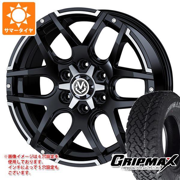 サマータイヤ 235/70R16 106T グリップマックス グリップマックス A/T アウトラインホワイトレター マッドヴァンス04 7.0-16 タイヤホイール4本セット