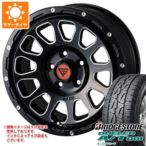 サマータイヤ 215/70R16 100S ブリヂストン デューラー A/T 001 ブラックレター デルタフォース オーバル 7.0-16 タイヤホイール4本セット