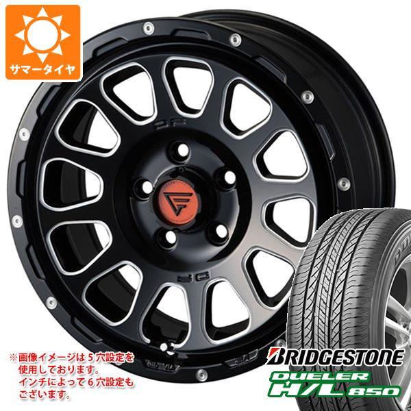 サマータイヤ 265/65R17 112H ブリヂストン デューラー H/L850 デルタフォース オーバル 8.0-17 タイヤホイール4本セット