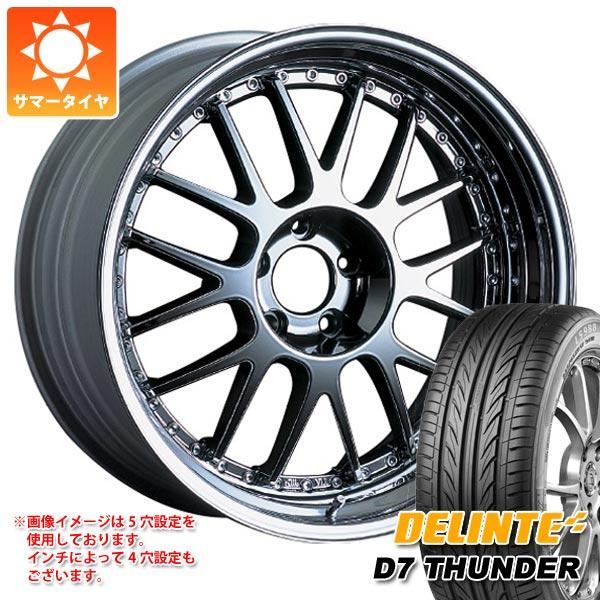 サマータイヤ 225/35R20 93W XL デリンテ D7 サンダー SSR プロフェッサー MS1 8.5-20 タイヤホイール4本セット