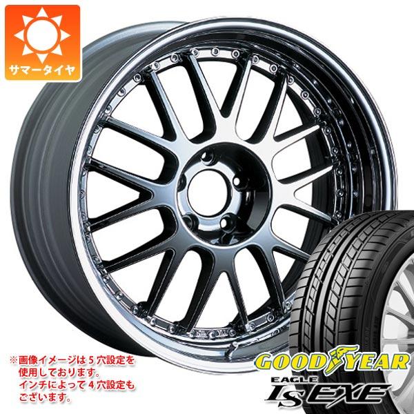 サマータイヤ 245/35R19 93W XL グッドイヤー イーグル LSエグゼ SSR プロフェッサー MS1 8.0-19 タイヤホイール4本セット
