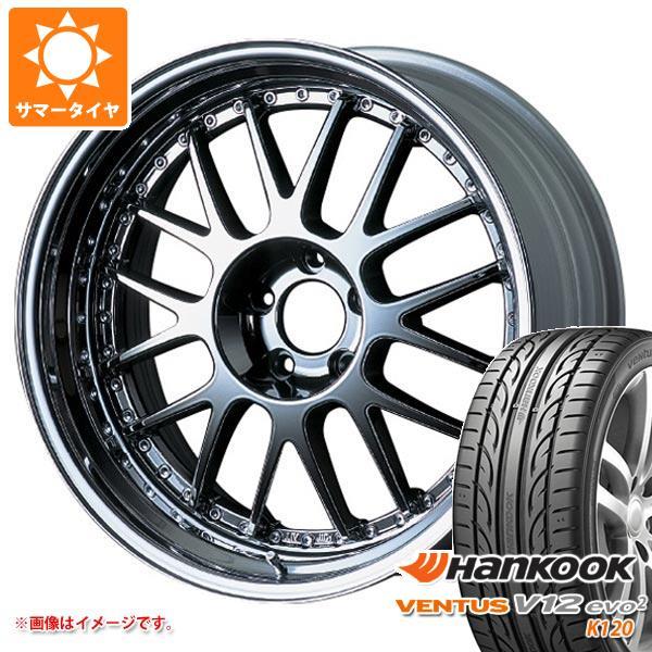 サマータイヤ 225/35R20 90Y XL ハンコック ベンタス V12evo2 K120 SSR プロフェッサー MS1 8.5-20 タイヤホイール4本セット