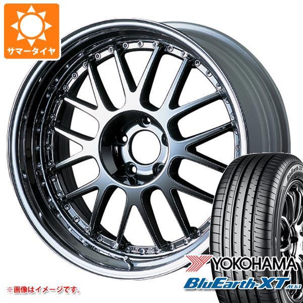 サマータイヤ 215/50R18 92V ヨコハマ ブルーアースXT AE61 SSR プロフェッサー MS1 7.5-18 タイヤホイール4本セット